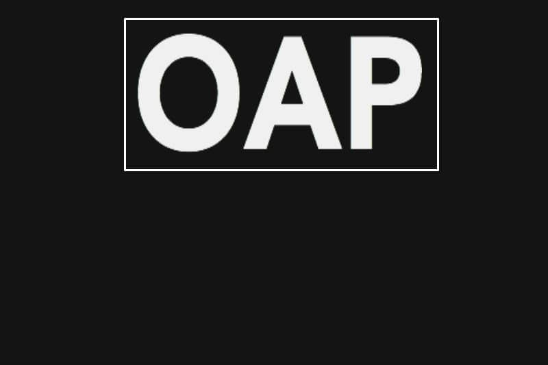 OAP Monday-Thursday